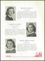 1940 Mt. St. Joseph Academy Yearbook Page 42 & 43