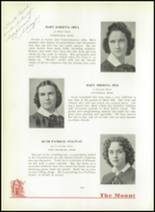 1940 Mt. St. Joseph Academy Yearbook Page 46 & 47