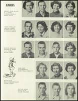 1955 Pruden High School Yearbook Page 20 & 21