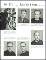 1961 Monsignor Bonner High School Yearbook Page 24 & 25