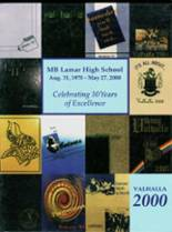 2000 Yearbook Lamar High School