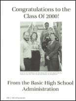 2000 Basic High School Yearbook Page 260 & 261