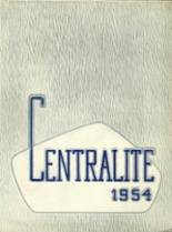 1954 Yearbook Central High School