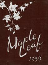 1959 Yearbook Maple Heights High School