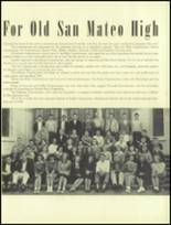 1945 San Mateo High School Yearbook Page 20 & 21