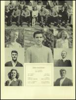 1945 San Mateo High School Yearbook Page 24 & 25