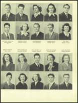 1945 San Mateo High School Yearbook Page 68 & 69