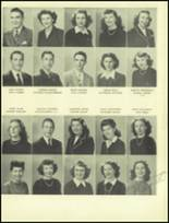1945 San Mateo High School Yearbook Page 70 & 71