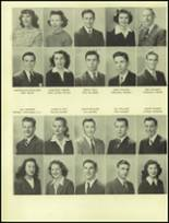 1945 San Mateo High School Yearbook Page 74 & 75