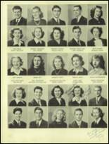 1945 San Mateo High School Yearbook Page 76 & 77