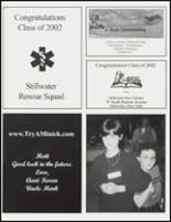 2002 Stillwater High School Yearbook Page 154 & 155