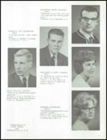 1964 Marlette High School Yearbook Page 20 & 21