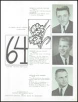 1964 Marlette High School Yearbook Page 30 & 31