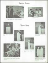 1964 Marlette High School Yearbook Page 32 & 33