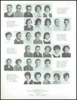 1964 Marlette High School Yearbook Page 38 & 39