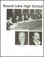 1992 Round Lake High School Yearbook Page 166 & 167