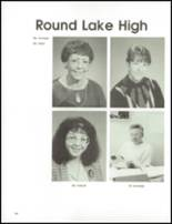 1992 Round Lake High School Yearbook Page 168 & 169