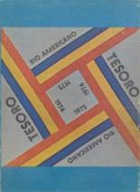 1975 Yearbook Rio Americano High School