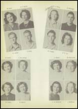1951 Winnfield High School Yearbook Page 34 & 35