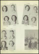 1951 Winnfield High School Yearbook Page 36 & 37