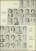1951 Winnfield High School Yearbook Page 38 & 39
