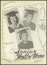 1951 Winnfield High School Yearbook Page 50 & 51