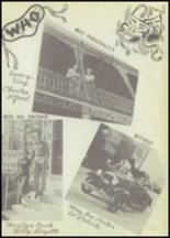 1951 Winnfield High School Yearbook Page 52 & 53