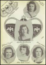 1951 Winnfield High School Yearbook Page 54 & 55