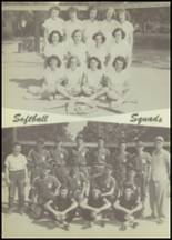 1951 Winnfield High School Yearbook Page 110 & 111
