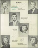 1953 Dyer Central High School Yearbook Page 20 & 21