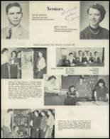 1953 Dyer Central High School Yearbook Page 28 & 29