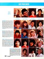 1984 Sonora High School Yearbook Page 16 & 17