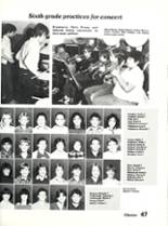 1984 Sonora High School Yearbook Page 50 & 51