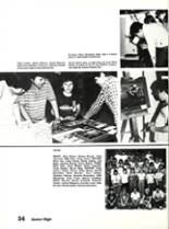 1984 Sonora High School Yearbook Page 58 & 59