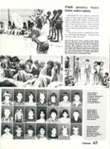 1984 Sonora High School Yearbook Page 70 & 71