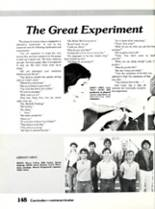 1984 Sonora High School Yearbook Page 152 & 153