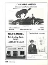1984 Sonora High School Yearbook Page 160 & 161