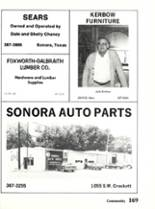 1984 Sonora High School Yearbook Page 172 & 173