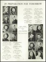 1949 Manasquan High School Yearbook Page 12 & 13