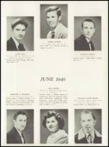 1949 Manasquan High School Yearbook Page 14 & 15