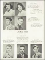1949 Manasquan High School Yearbook Page 16 & 17