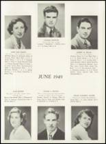 1949 Manasquan High School Yearbook Page 18 & 19