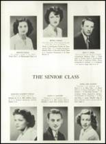 1949 Manasquan High School Yearbook Page 20 & 21