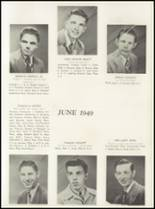 1949 Manasquan High School Yearbook Page 22 & 23