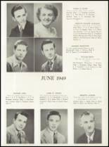 1949 Manasquan High School Yearbook Page 24 & 25