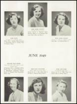 1949 Manasquan High School Yearbook Page 36 & 37