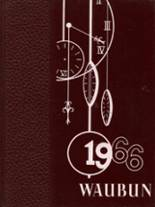 1966 Yearbook Waupun High School
