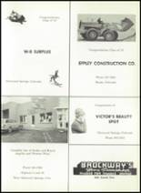 1967 Roaring Fork High School Yearbook Page 72 & 73