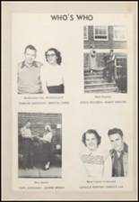 1950 Taylor County High School Yearbook Page 38 & 39