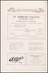 1926 Mt. St. Clare Academy Yearbook Page 108 & 109